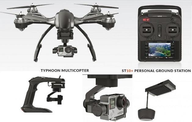 Yuneec typhoon q500 Migliori Droni per GoPro