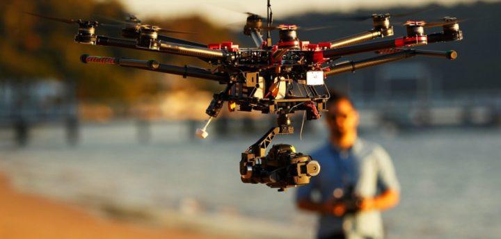 operazioni specializzate con droni