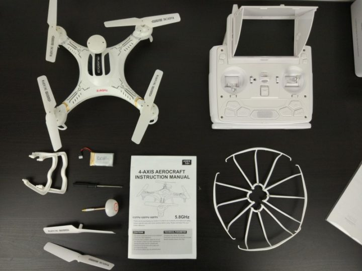 recensione XIN LIN X118 FPV unboxing