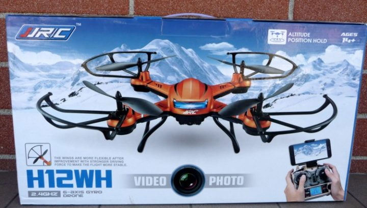 Recensione JJRC H12WH confezione_Drone_Toys_Unboxing_scatola JJRC