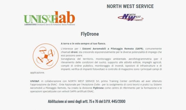sede-unisf-lab-notturna-flydrone-north-west-service-droni-formazione-sapr-corsi