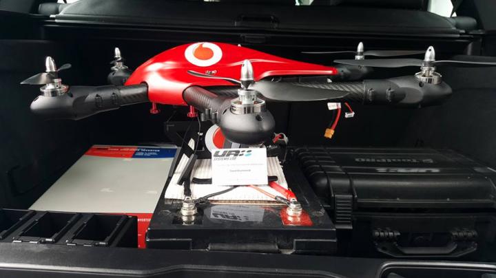 Vodafone Droni-vodafone monitora il traffico aereo dei droni-easa-regolamento europeo-drone-vodafone controllo droni