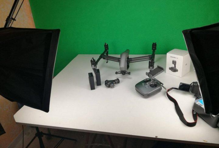 recensioni droni-test droni-tutorial droni-Unboxing DJI Inspire 2-ita-recensione-zenmuse