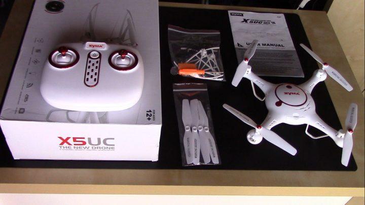 Unboxing Syma X5UC-droni-camera-recensione