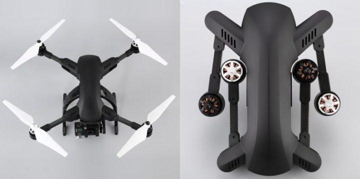 simtoo dragonfly pro-recensione-4k-dimensioni-rtf-gps-funzioni-rc watch-live-infodrones-test