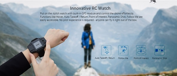 simtoo dragonfly pro-recensione-4k-dimensioni-rtf-gps-funzioni-rc watch
