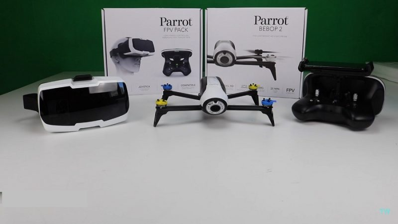 Recensione Parrott Bebop 2 FPV Pack-kit fpv-bebop-parrott-visore fpv-unboxing parrott 2