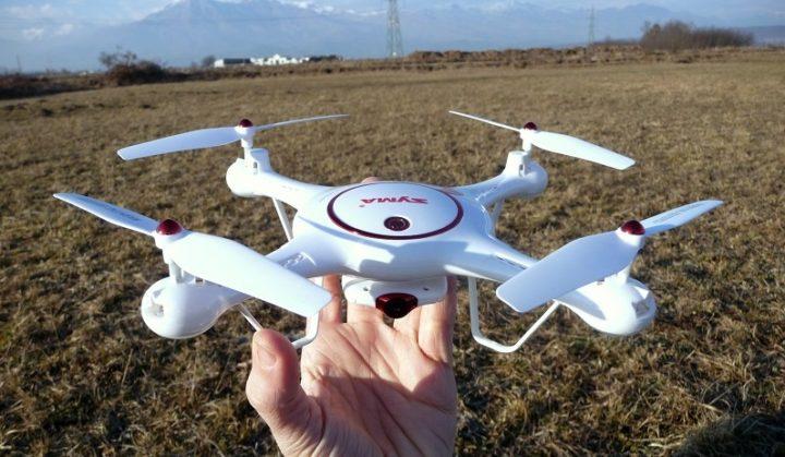 Recensione Syma X5UC-droni con camera-droni economici-droni per principianti-gearbest-promo
