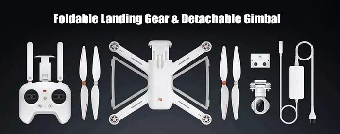 xiaomi mi drone 4k unboxing