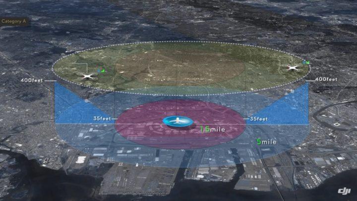 limiti aggiornamento dji-dji no flight zone-dji firmware-aggiornamento dji go limiti