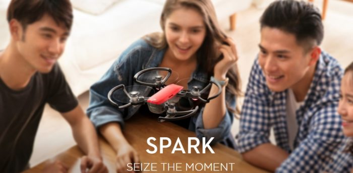 dji spark-drone da 300 grammi