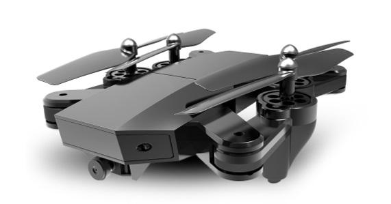 recensione visuo xs809w-drone economico-copia dji mavic-drone richiudibile