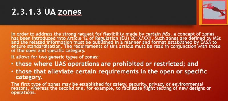 ZONE regolamento europeo sui droni-easa-regole europee sui droni-sapritalia easa
