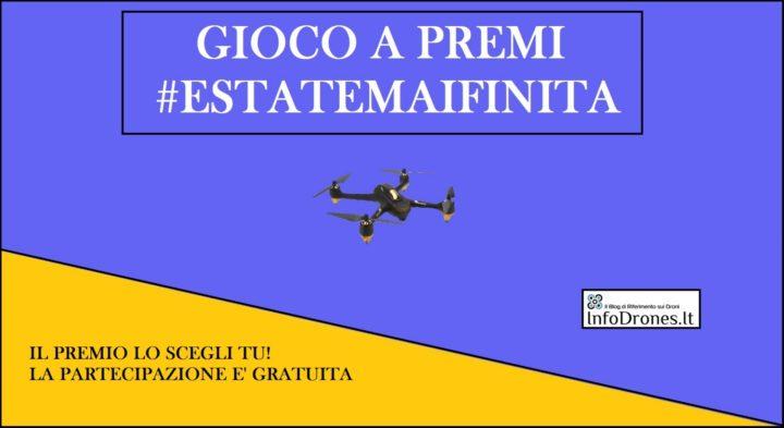 estate mai finita-vinci un drone