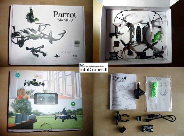 contenuto confezione parrot mambo tomtop promo