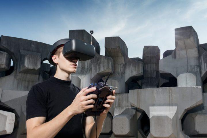 DJI Goggles RE (Racing Edition)-occhiali fpv dji-nuovi occhiali dji