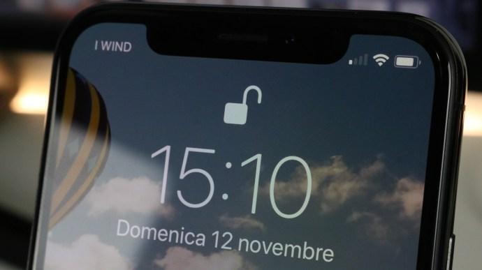 blocco Apple iPhone X recensione