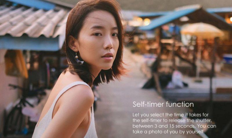 funzioni self-timer xiaomi mijia 4k-miglior action cam economica