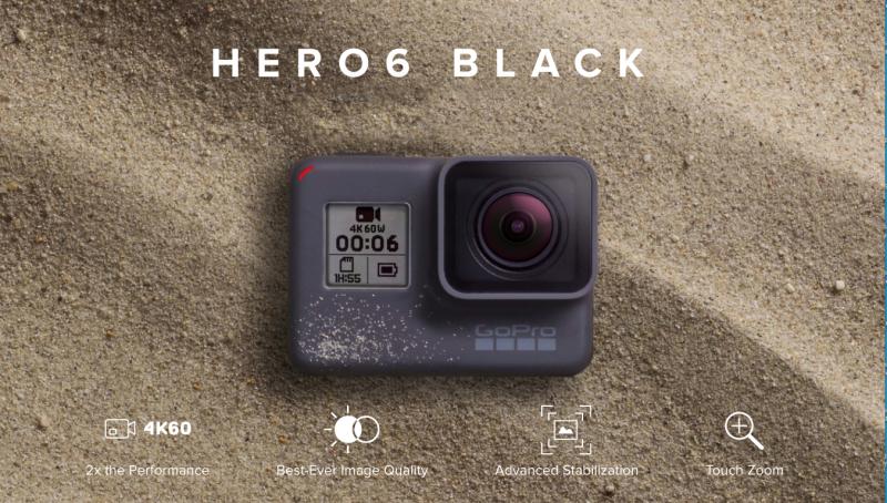 GoPro Hero 6, la regina delle ActionCam | InfoDrones.It