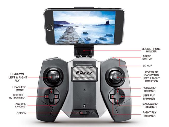 recensione fq777 fq18 rcmoment-drone copia dobby