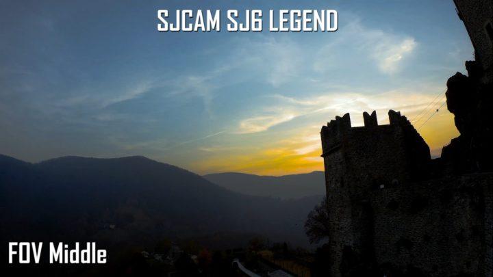 sjcam sj6 legend FOV test - sjcam fov middle-fov narrow-fov wide