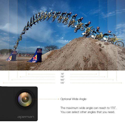 Action Cam Apeman 4K caratteristiche