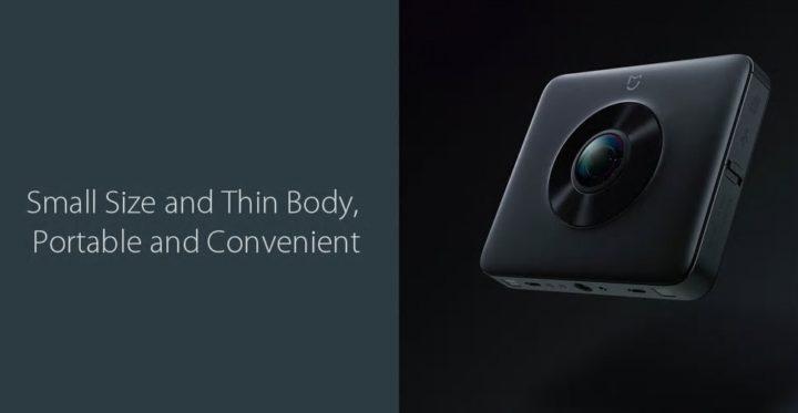 action cam Xiaomi Mijia 3.5K panorama