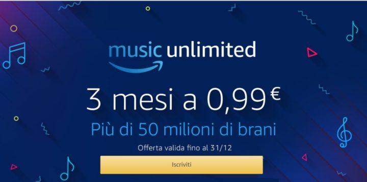 cos'è Amazon music unlimited-servizio di musica digitale