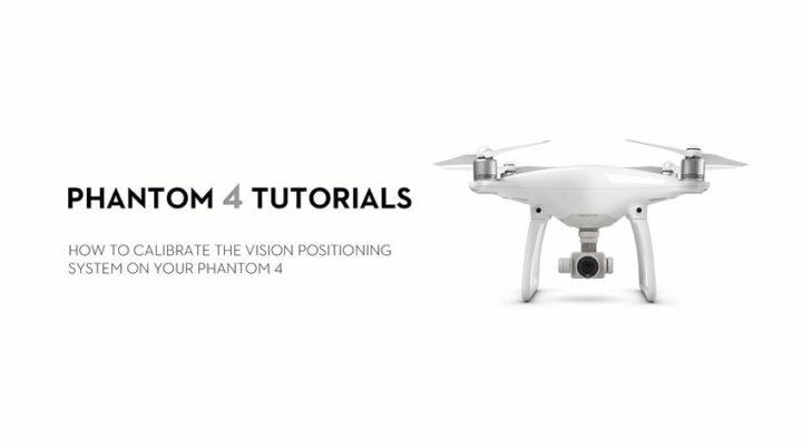 Come calibrare i sensori del DJI Phantom 4