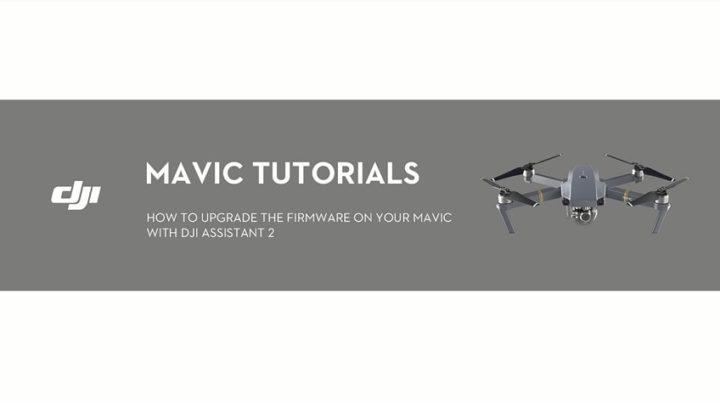 Come eseguire upgrade o downgrade nel DJI Mavic Pro
