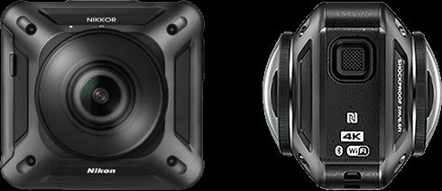 Nikon KeyMission 360 caratteristiche