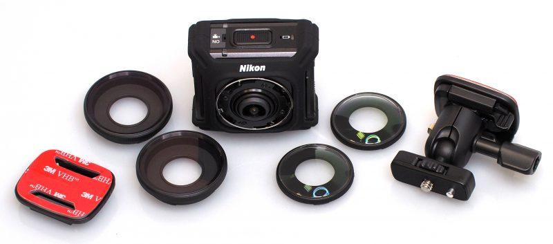 Action Cam compatta a 360°, Nikon KeyMission 360 | InfoDrones.It