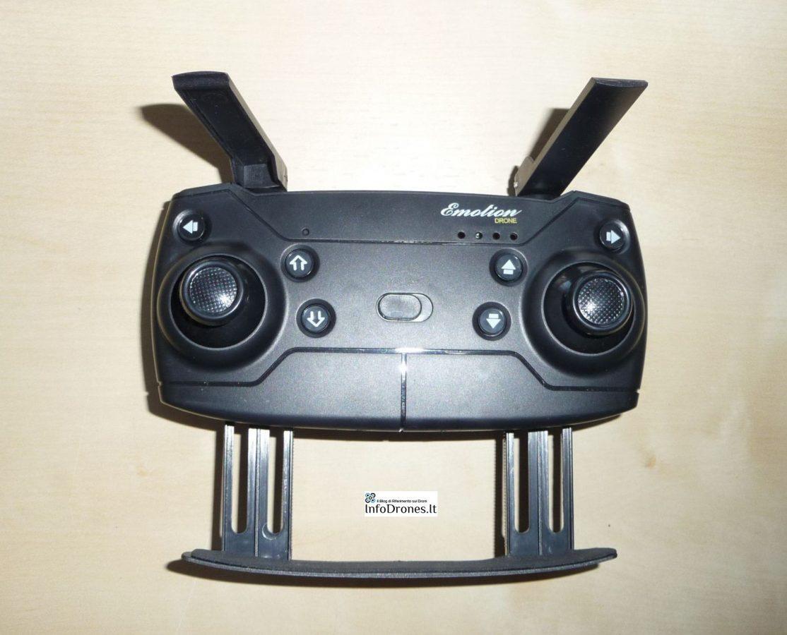 Radiocomando Eachine e58- il drone clone dji mavic pro