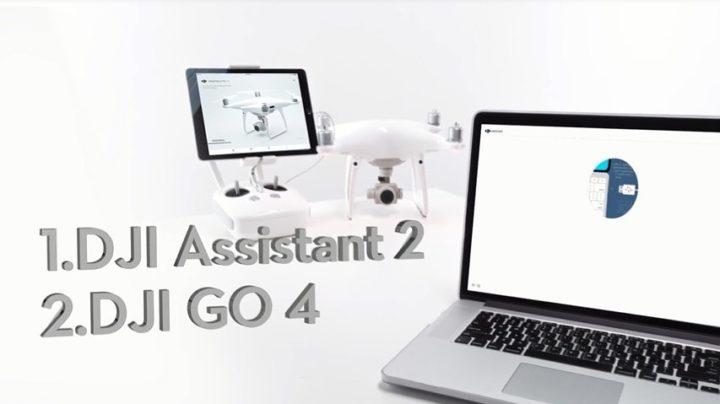 Tuorial aggiornamento firware drone dji phantom 4 pro-advenced