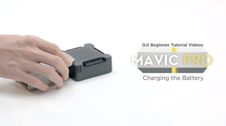 come caricare le batterie del DJI Mavic Pro