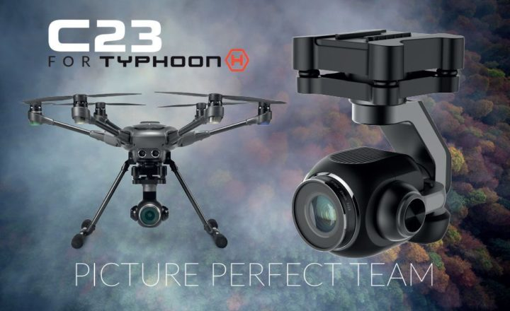 Yuneec camera c23 typhoon H plus