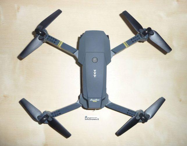 caratteristiche tecniche Eachine e58- drone clone dji mavic pro