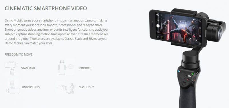 dji ces 2018-osmo mobile 2-ronin s