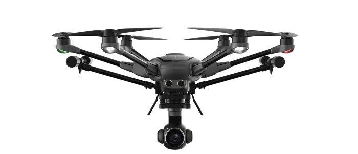 drone yuneec typhoon h plus-ces 2018 novità-droni ces 2018