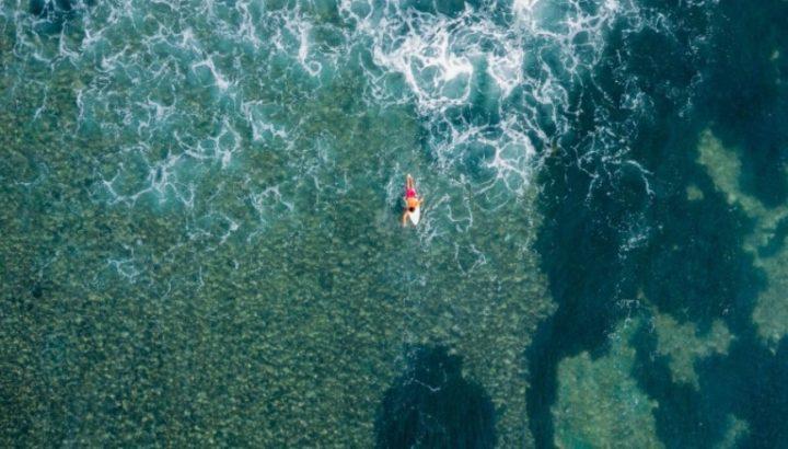 foto dji mavic air sea