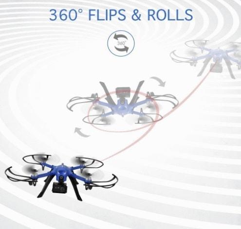 funzioni drocon bugs 3 amazon drone per gopro 2