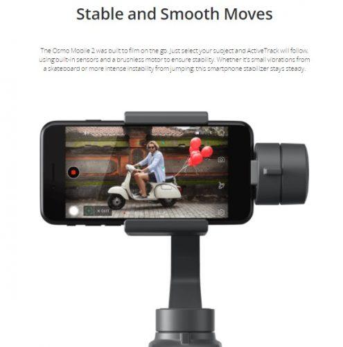 nuovo dji osmo mobile 2-stabilizzatore per smartphone-gimbal per smartphone