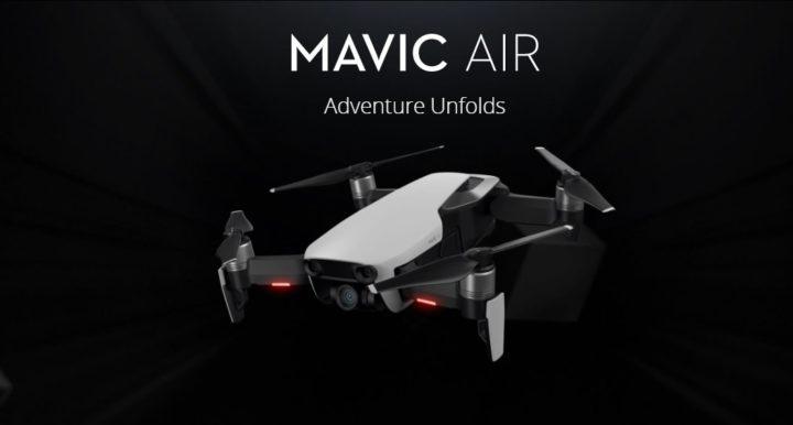 nuovo drone dji mavic air