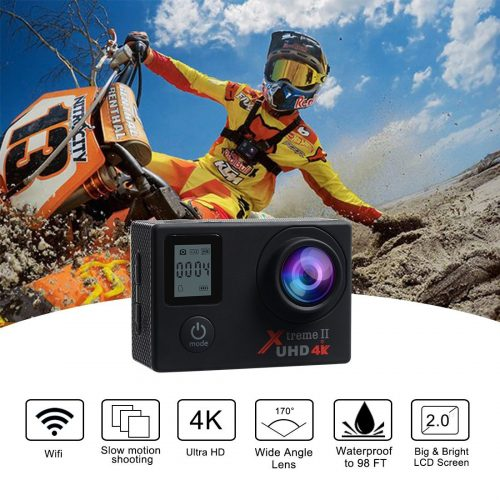 Action Cam Campark ACT76 caratteristiche