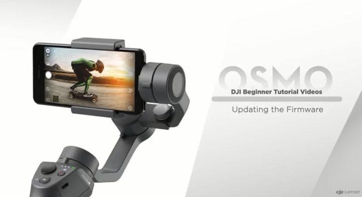 Aggiornamento firmware DJI Osmo Mobile 2