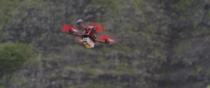 DJI Snail e Takyon droni da corsa
