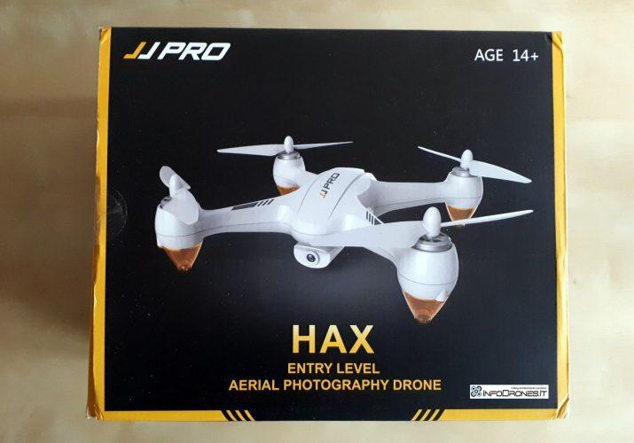 confezione JJRC jjpro x3 hax