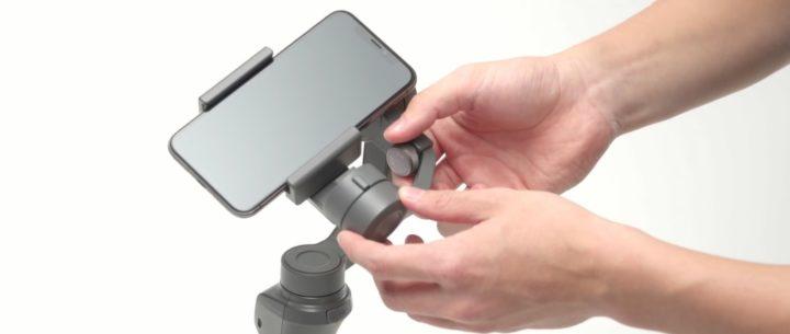 Come impostare e preparare il gimbal Osmo Mobile 2