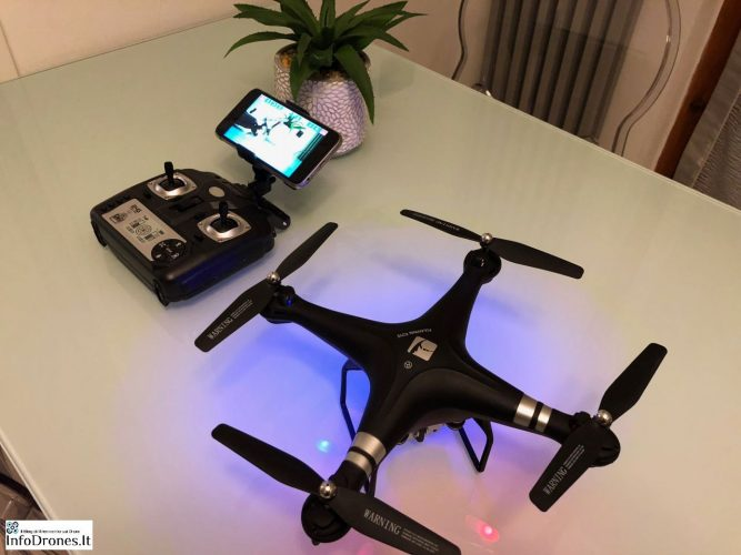 Recensione Drone Fulaiying X52HD RC gearbest