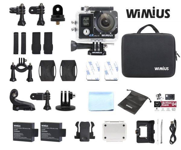 WiMiUS Q4 4K confezione